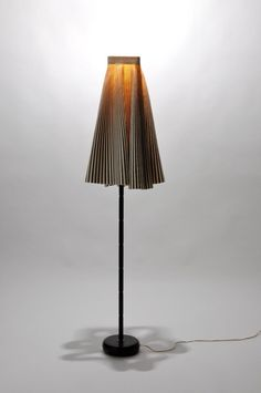 Recognize the origins of this upcycled lamp shade?