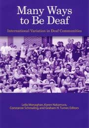 The Deaf Resource Library is a virtual library - an online collection of reference material and links intended to educate and inform people about Deaf cultures in Japan and the United States; as well as deaf and hard of hearing related topics. The information is collected here as a service to the Deaf, hard of hearing, and hearing impaired