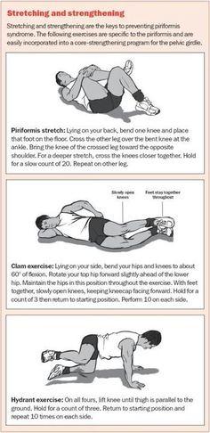 how to get deep piriformis stretch