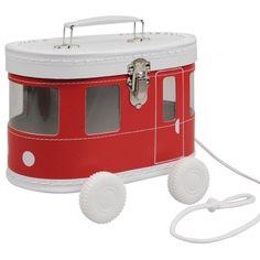 speelkoffer rode #tram #jongenskamer #decoratie