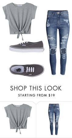"""""""Nash Grier Imagine- First Date Outfit"""" by msftsblue ❤ liked on Polyvore featuring H&M and Vans"""