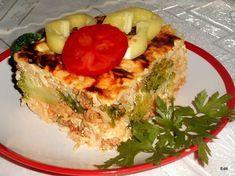 Rakott brokkoli darált hússal Spanakopita, Cheesesteak, Avocado Toast, Quiche, Waffles, Curry, Breakfast, Ethnic Recipes, Food