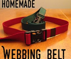 Outdoor Webbing Belt  ||  Got some old webbing kicking around? Or maybe you are in desperate need of a belt! Anyhow, this belt is super easy to make and is ''waist-ready'' in a day or so.... http://www.instructables.com/id/Outdoor-Webbing-Belt/?utm_campaign=crowdfire&utm_content=crowdfire&utm_medium=social&utm_source=pinterest