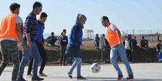 Un Calcio per la Pace. Nel Campo rifugiati di Arbat nel Kurdistan Iracheno, Football Tournament for social cohesion