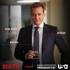 Harvey Specter...always dressed to impress. #suits
