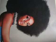70s. No one ever made an afro look this good. Tamara Dobson, Cleopatra Jones.