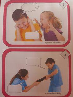 """J'ai trouve sur le blog de """"pepinette"""", un jeu de cartes avec des photos pour permettre aux enfants de se mettre à la place de quelqu'un, et d'exprimer par le dialogue, une émotion ou un sentiment. ICI (Je vais les plastifier et tester sur mes élèves.)..."""