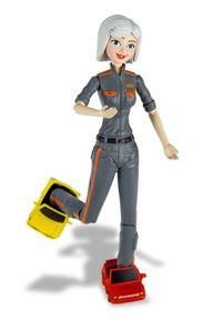 Monsters vs Aliens Ginormica Action Figure  Game Searches
