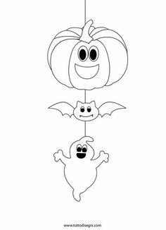Halloween Decorations For Kids, Halloween Crafts For Toddlers, Halloween Arts And Crafts, Halloween Cards, Holidays Halloween, Halloween Pictures, Halloween Diy, Moldes Halloween, Adornos Halloween