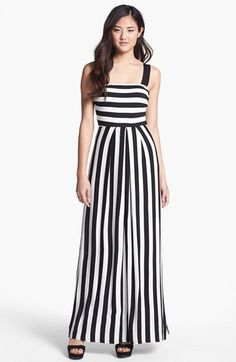 Everleigh Stripe Maxi Dress available at #Nordstrom