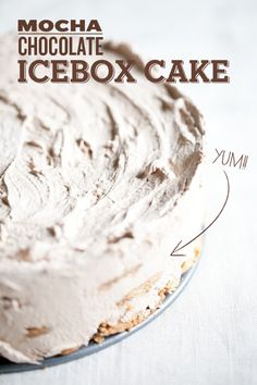 siriously delicious: Sugar and Charm Guest Post ~ Mocha Chocolate Icebox Cake