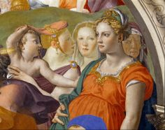 Agnolo Bronzino - The crossing of the Red Sea