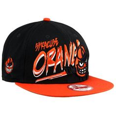 big sale bf019 08e0e New Era Syracuse Orange Word Scribbs 9FIFTY Adjustable Snapback Hat - Navy  Blue