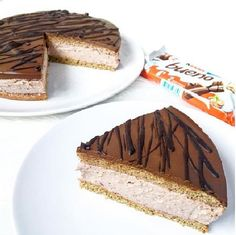 fit kinder bueno - My CMS Helathy Food, Snack Recipes, Snacks, Healthy Sweets, Food Photo, Delicious Desserts, Food To Make, Sweet Tooth, Food And Drink