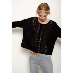blouse Kiria noir @ DES PETITS HAUTS
