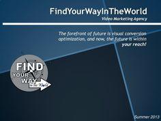 #Bangkok #video #marketing fywinbangkok-video-online-marketing-services by FindYourWayInTheWorld via Slideshare