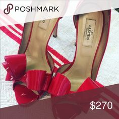 Valentino red heels In excellent condition! Comes in dust bag Valentino Garavani Shoes Heels