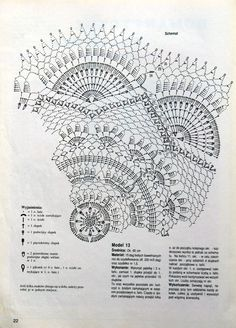 "Photo from album ""Moje robotki on Yandex. Crochet Doily Diagram, Crochet Mandala Pattern, Crochet Chart, Crochet Doilies, Crochet Patterns, Crochet Books, Crochet Home, Thread Crochet, Point Lace"