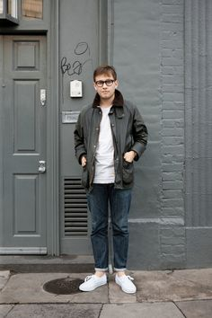 'Adam was pictured in London Spitalfields in his Classic Beaufort. We love this…