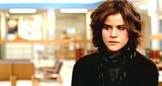 Ally Sheedy in The Breakfast Club BEFORE Molly Ringwald gave her the 'makeover'. Club Hairstyles, Haircuts, 80s Fashion Icons, 70s Music, 80s Movies, The Best Films, All I Ever Wanted, Dirty Dancing, The Breakfast Club