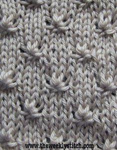 The Weekly Stitch: Knot Stitch