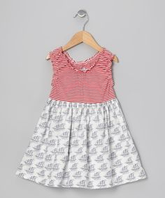 Red Yacht Mixer Dress - Infant, Toddler & Girls | Daily deals for moms, babies and kids