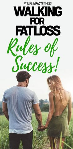 Walking for fat loss. Rules of success.