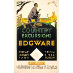 Country excursions; Edgware - Frederick Charles Herrick (1926)