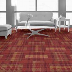 Dartmoor Plaid Summary | Commercial Carpet Tile | Interface