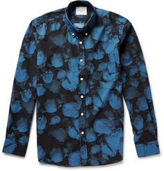 Saturdays Surf NYC - Crosby Printed Cotton-Poplin Shirt | MR PORTER