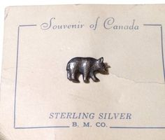 Canadian Souvenir Sterling Silver .5