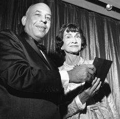 Stanley Marcus presented Coco Chanel with the Neiman Marcus Award for Distinguished Service in the Field of Fashion.