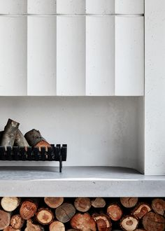 Concrete Collective & Issue 02 Feature & The Local Project Cabin Interior Design, Cabin Design, Interior Styling, Cozy Fireplace, Fireplace Design, Architectural Digest, Contemporary Architecture, Interior Architecture, Nordic Home