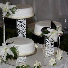 Wedding Cake Stand Art