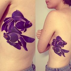 Sasha Unisex Puts Her Mark On Watercolor Tattoos - KickassThings