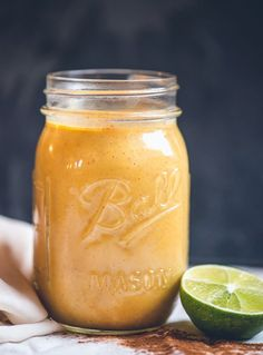Spiced Butternut Apple Smoothie – Thanks to the squash, bananas and apple blended into this fall-inspired smoothie, this drink provides a major hit of nutrients, including vitamins A, B6, and C, which has been shown to fight off cortisol, a hormone that causes belly fat.  Get the recipe from Food Fitness Fresh Air.