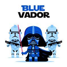 Blue Vador is Comming !! tin tin tiiinnnn nin nin nin !