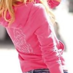 VS Wing Hoodie Supermodel Essentials Hoodie Rare✂ Victoria Secret Supermodel Essentials Hoodie Rare Angel Wings Pink sz XS super soft & so cute!! Like new Sometimes you think your going to wear something & instead it sits in your closet lol 😄 Victoria's Secret Jackets & Coats