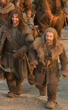 Fili and Kili brothers at heart >> Back when things were happy and innocent.
