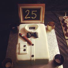 Mad Men Theme Birthday Cake @Mariana Lafrance Ontiveros @Yesenia Perez-Cruz Padilla