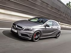 Why can't we have these here in the states! Mercedes-Benz (W176) A45 AMG by #VAETH #mbhess #mbtuning