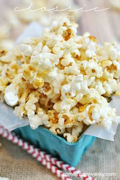 The past 6 months have given me a lot of opportunities to try different kinds of popcorn. Because I literally wrote the book on popcorn this summer, and I was up to my eyeballs in kernels! We're still about a year out from publication, but all sorts of fun stuff are happening behind the scenes. …