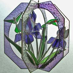 Iris Garden by MountainNavy on Etsy, $159.00