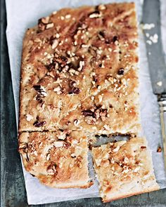 This flatbread is best when eaten piping hot and dripping with butter. #SweetPaul
