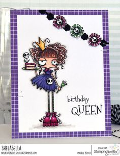 Spotlight On: April 2019 Crazy Tuesday Offers! Halloween Costumes For Teens, Halloween Cards, Rubber Stamp Company, Mo Manning, Paint Cards, Love Stamps, Handmade Birthday Cards, Copics, Stamp Collecting