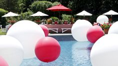 Pool Party Decor, David Monn