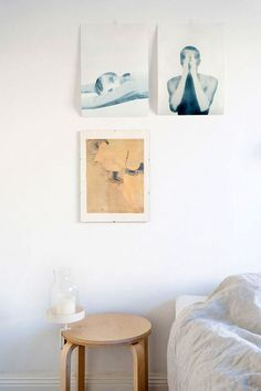 who is this fantastic frank, anyway? Stockholm, Interior Styling, Interior Decorating, Decorating Ideas, Sweet Home, Comfy Bedroom, Bedroom Art, White Bedroom, Bedroom Inspo