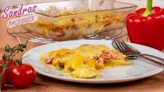 Lachs-Tortellini Auflauf - Rezept von Sandras Backideen Baked Potato, Potatoes, Baking, Ethnic Recipes, Food, Youtube, Quick Healthy Meals, Salmon Casserole, Souffle Dish