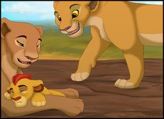 The Lion Guard by Howikin on DeviantArt Kiara Lion King, Lion King 3, Lion King Fan Art, Lion King Movie, Disney Lion King, Family Tree With Pictures, Lion Pictures, Hakuna Matata, Lion King Images