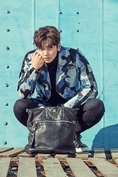 Ji Chang Wook was chosen as the fashion model for 2017 MCM S/S Fashion collection, check it out! Source  |  Top Star News